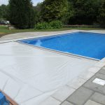 Swimming Pool with automatic cover
