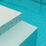 Swimming pool sand lining